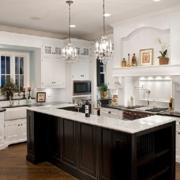 浅色调厨房效果图片