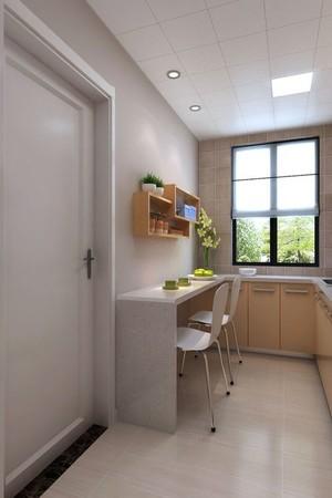 简约一居室吧台装修效果图