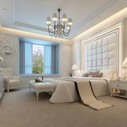 纯洁素雅的卧室飘窗
