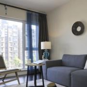 单身公寓前卫客厅