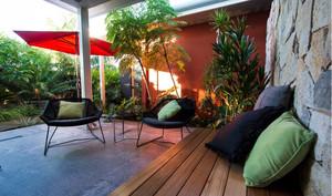 美式舒适别墅阳台
