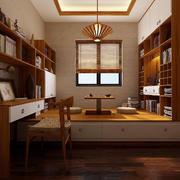 温馨中式书房图片