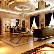 超级豪华别墅客厅欣赏