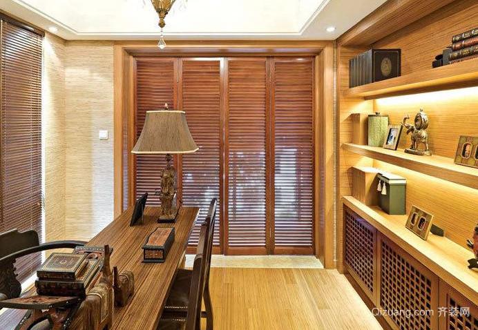 20平米中式小书房装修效果图