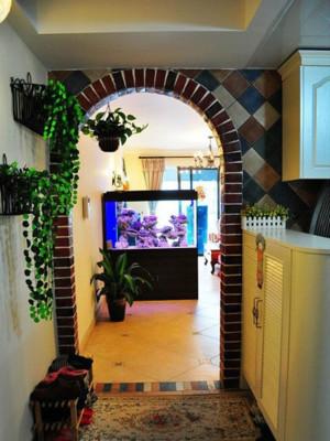 家居客厅装饰鱼缸装修效果图