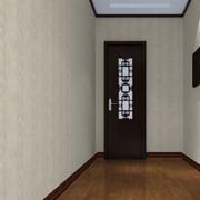 欧式简约型深色木地板