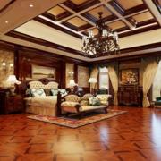 美式大户型别墅卧室