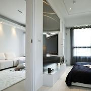 白色调客厅装修图片