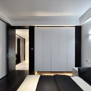黑白系列卧室衣柜