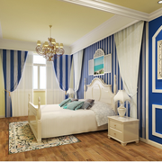 家装卧室条纹壁纸