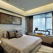 欧式现代简约卧室榻榻米