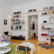 单身小公寓客厅展示