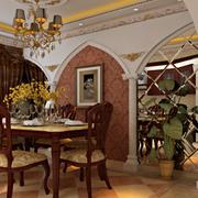 美式精美的餐厅