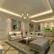 别墅客厅装饰画设计