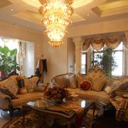 客厅大型吊灯图片