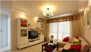 小户型暖色调客厅