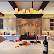 家装厨房吊灯展示