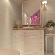 美式经典式卫生间穿衣镜图片展示