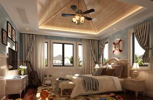 混搭风格别墅吊顶装修设计效果图