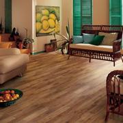 欧式简约型棕色木地板