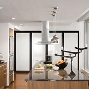 厨房白色简约吊顶
