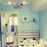 轻快自然的儿童房