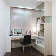 现代简约小家庭书房