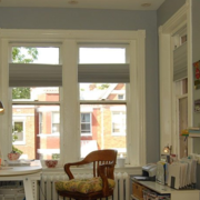 清新风格书房效果图片