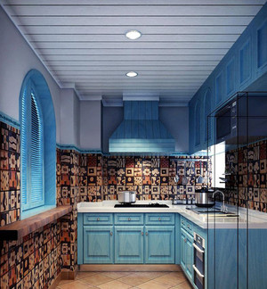 地中海风格的厨房