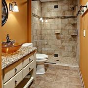 复式楼卫生间墙面设计