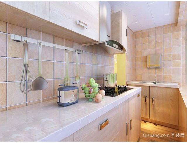 现代简约都市厨房装修效果图