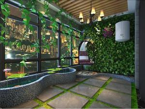 植物田园系列露台设计