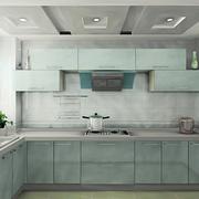 清新色调厨房装修图片