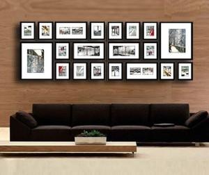 时尚风格照片墙装修