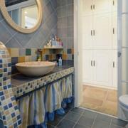 卫生间个性洗手台
