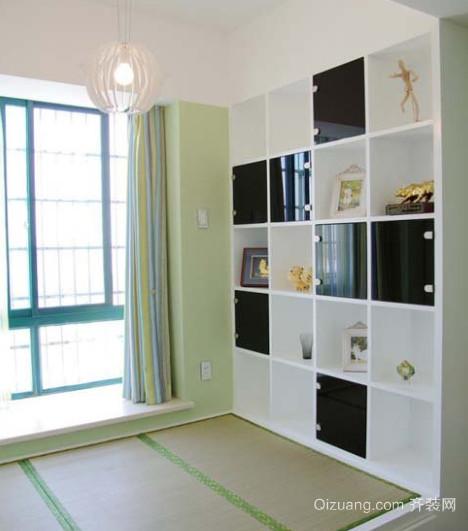 三室一厅室内地台装修效果图