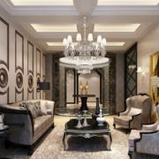 大方古典的客厅