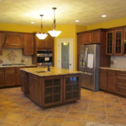 厨房地板砖效果图片