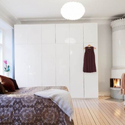公寓卧室效果图片