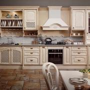 欧式风格厨房橱柜设计