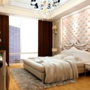 精致简约的卧室背景墙