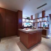 厨房开放式厨房展示