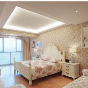 韩式田园卧室图片