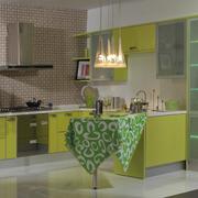 清爽系列厨房橱柜设计