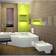 浴室按摩浴缸展示
