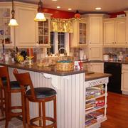 美式精致厨房欣赏