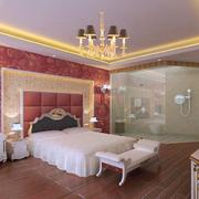 暖色调公寓卧室设计