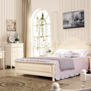 大户型米白色卧室