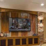 美式大户型传统电视墙