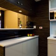 厨房隔断小吧台展示